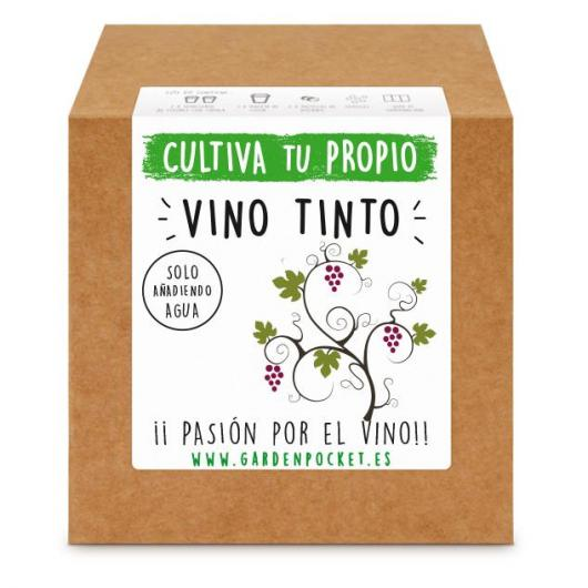 Kit semina Vino Tinto Garden Pocket