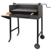 Barbecue completo con elevatore e Vassoio di legno Imex el Zorro