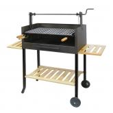 Barbecue completo con Griglia Inox e Vassoi di legno Imex el Zorro