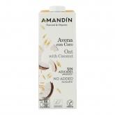Bevanda di Avena con Cocco Amandín, 1 L