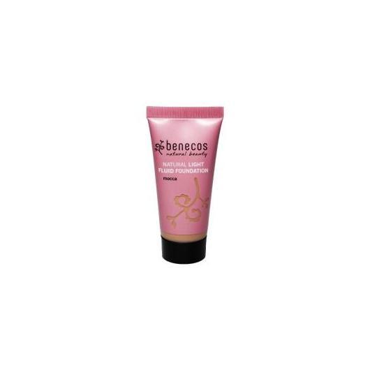 Maquillaje Natural Fluido Mocca Benecos, 30ml