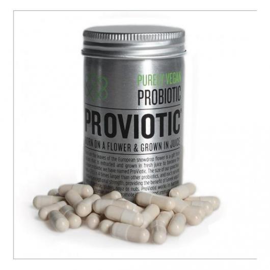 ProViotic 250 mg probiótico vegano y orgánico, 30 cápsulas