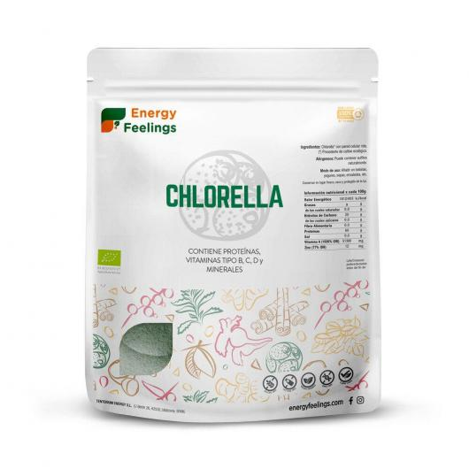 Clorella BIO in polvere Energy Fruits
