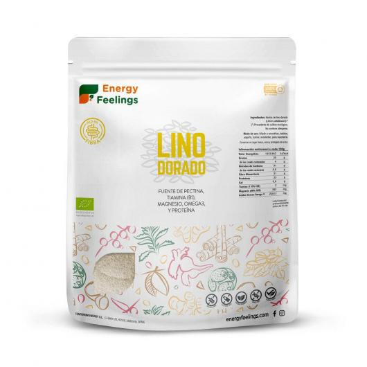 Lino Dorato BIO in polvere Energy Fruits