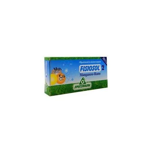 Fisiosol 2 Manganeso y Cobre Specchiasol,20 viales