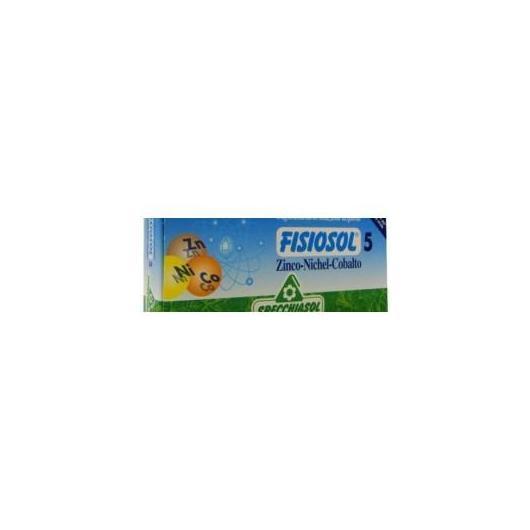 Fisiosol 5 Zinco,Niquel y Cobalto Specchiasol,20 viales
