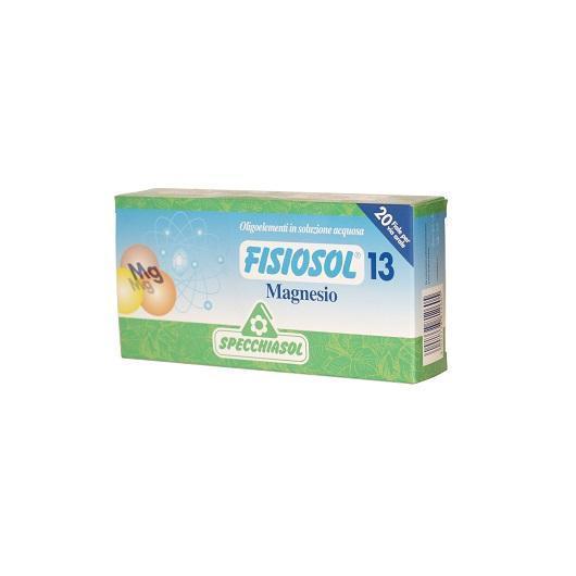 Fisiosol 13 Magnesio Specchiasol, 20 fiale