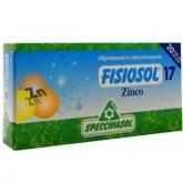 Fisiosol 17 Zinc Specchiasol, 20 viales