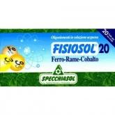 Fisiosol Hierro, Cobre y Cobalto Specchiasol, 20 viales