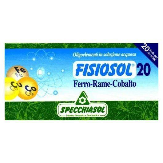 Fisiosol Ferro, Rame e Cobalto Specchiasol, 20 fiale