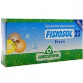 Fisiosol 22 Hierro Specchiasol, 20 viales