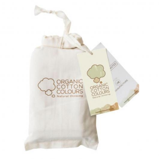 Pack 2 slip di cotone organico, bianco e marrone