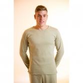 Maglietta manica lunga cotone organico uomo, verde