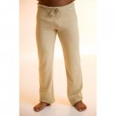 Pantalone yoga cotone organico unisex, verde
