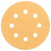 6 dischi abrasivi per pittura e legno 115 mm GR 60/120/240