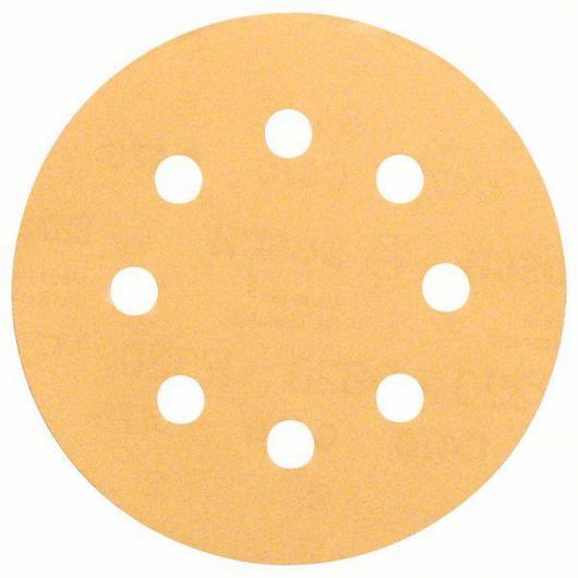 6 lijas para lijadoras excéntricas para pintura y madera 115 mm GR 60/120/240