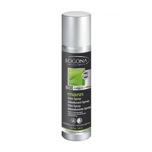 Desodorante Spray Mann Logona, 75 ml