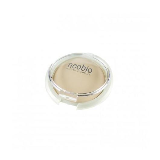 Maquillaje en Polvo Compacto 01 Light Beige Neobio, 10 g