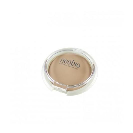 Maquillaje en Polvo Compacto 02 Beige Neobio,  10 g