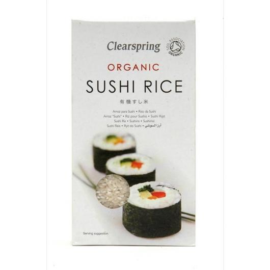 Riso organico per Sushi Clearspring, 500 g