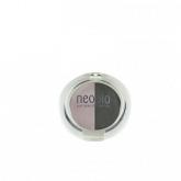 Sombra de olhos Dúo 01 Rose Diamond Neobio, 5 g