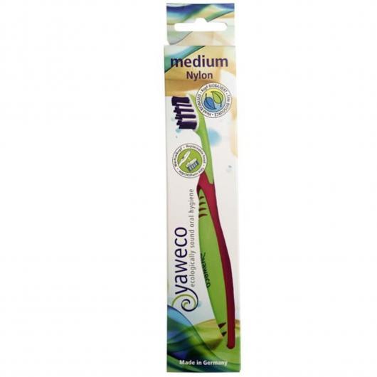 Cepillo Dental Nylon Medium Yaweko