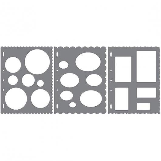 ShapeTemplate- Pacco con 3 forme Fiskars