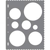 ShapeTemplate- Círculare Fiskars