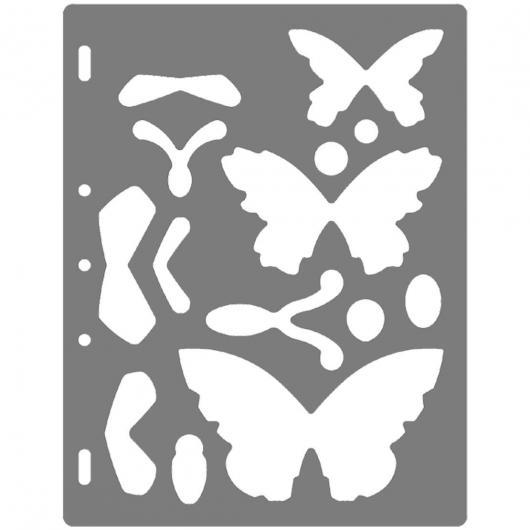 Shape Template Farfalle
