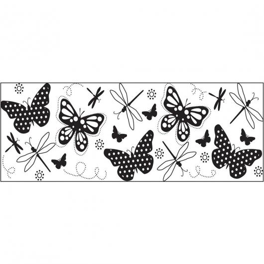 Foglio di stampa a Forma Continua- Farfalla Fiskars