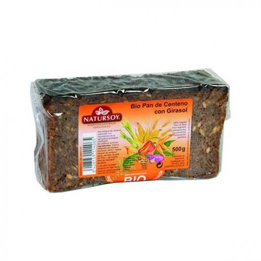 Pane di segale e girasole Natursoy, 500 g