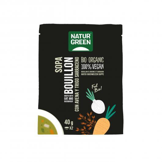Zuppa Bouillon con Avena e Grano saraceno Naturgreen, 40g