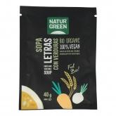 Zuppa di Lettere con verdura bio Naturgreen, 40g