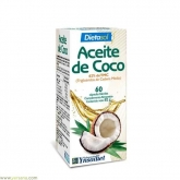 Olio di cocco Ynsadiet, 60 cápsulas