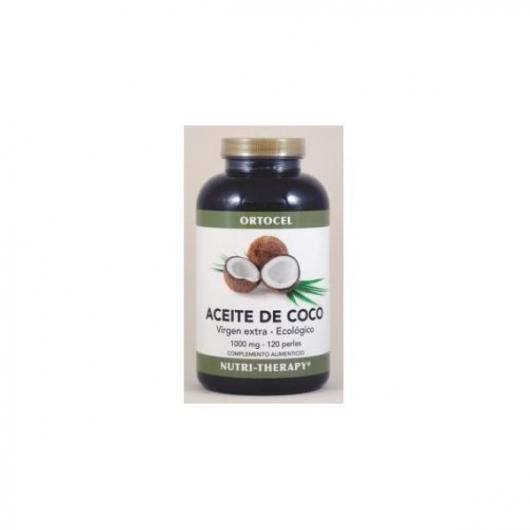 Aceite de coco 1000 mg Ortocel, 120 perlas