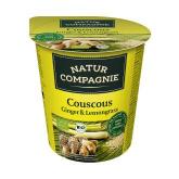 Mienstra precotta bio di Cuscus, Zenzero e Citronella di Limone Naturale Compagnie 84 g