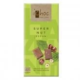 Tavoletta di cioccolato bio con bevanda di Riso e Nocciola iChoc 80 g
