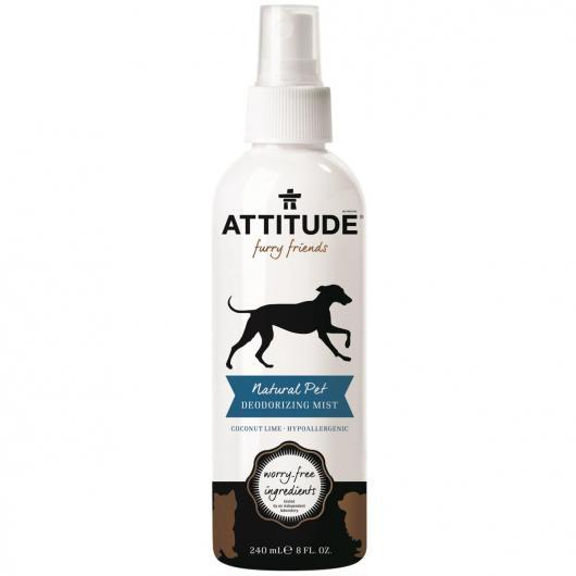 Desodorante de Coco y Lima para mascotas eco Attitude 240 ml