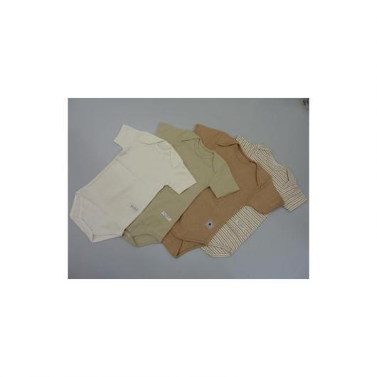 BOdy manica corta cotone organico, taglia (mesi) 3 a strisce