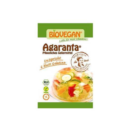 Gelificante vegetal vegano bio BIOVEGAN 3 x 6 g