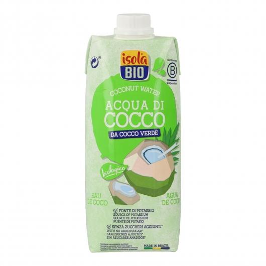 Agua de coco BIO Isola Bio, 500 ml