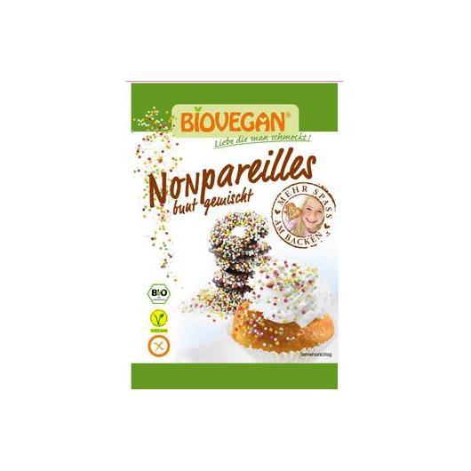 Bolitas de colores vegano bio para decorar BIOVEGAN 35 g