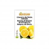 Cáscara de limón vegano bio para decorar BIOVEGAN 9 g