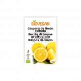 Buccia di limone vegana bio per decorazioni BIOVEGAN 9 g