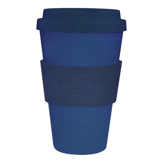 Tazza di Bambú  Deep Blue ecoffee Alternativa3, 400 ml
