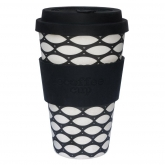 Tazza di Bambú Basketcase ecoffee Alternativa 3, 400 ml