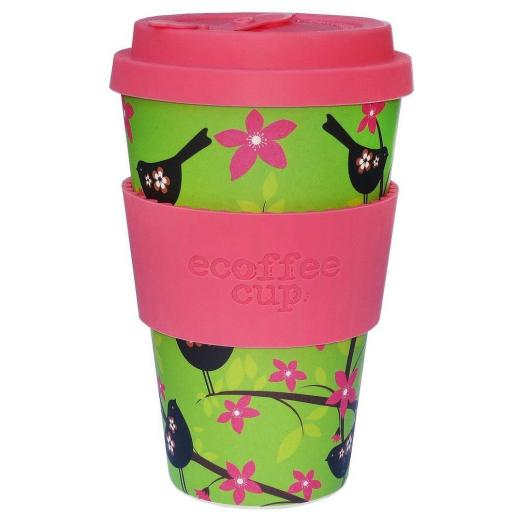 Tazza di Bambú WiddleBirdy Ecoffee Alternativa 3, 400 ml