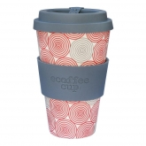 Tazza di Bambú Swirl Ecoffeee Alternativa3, 400 ml