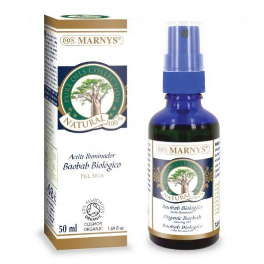 Aceite Biológico de Baobab Marnys, 50 ml