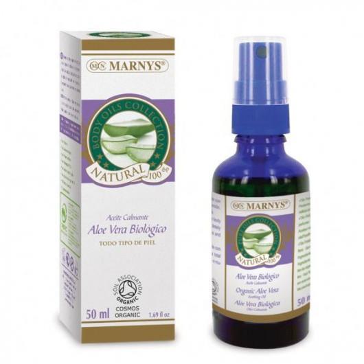 Aceite Biológico de Aloe Vera Marnys, 50 ml